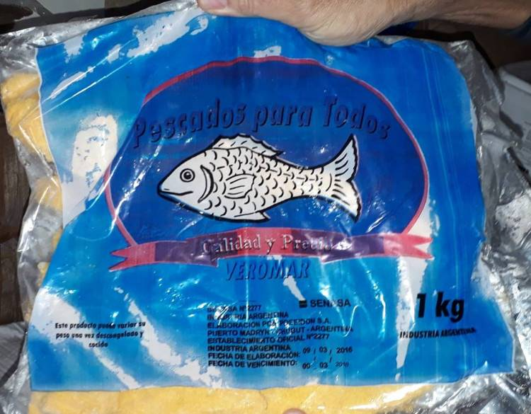 Decomisan pescados