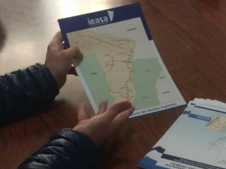 Tostado: gasoducto del Noroeste Argentino