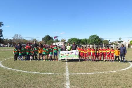 Encuentro de fútbol infantil