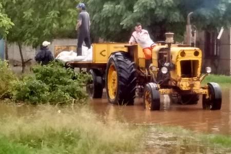 Tostado: ¡Otra vez! Lluvia e inundación.