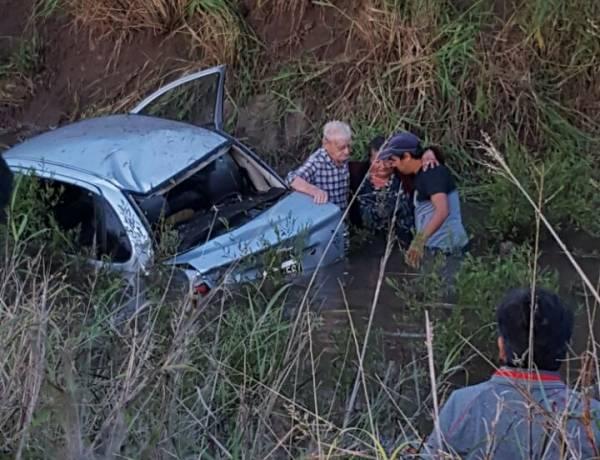 Accidente de tránsito en cercanía de Los Charabones